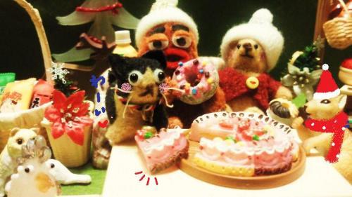ケーキ食べちゃうよ#9829;