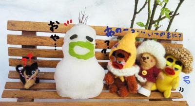 不思議な雪だるまさん4#9829;