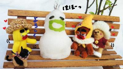 不思議な雪だるまさん5#9829;