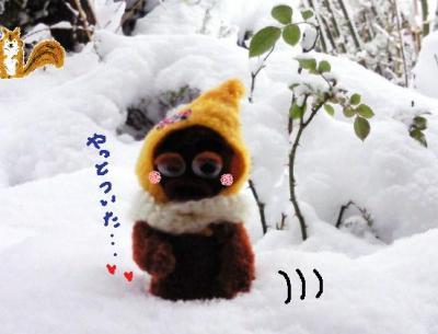 外は大雪#9829;