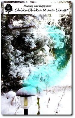 ちくちく村の雪2☆