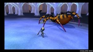 でっかい蜘蛛
