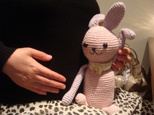 明子さんと赤ちゃん