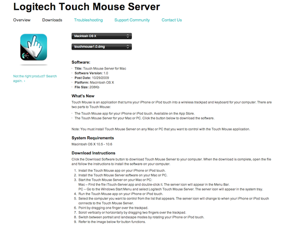 Logitech Touch Mouse_07