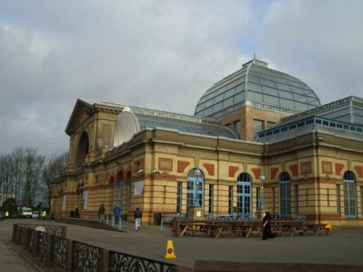 Alexandra palace アンティークフェア