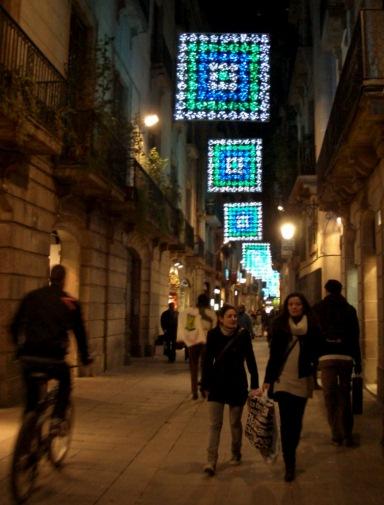 バルセロナ・イルミネーション