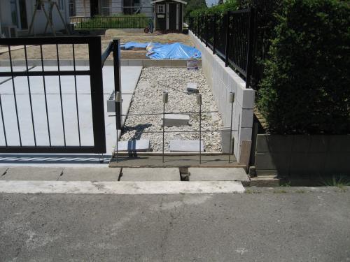 ブロックフェンス