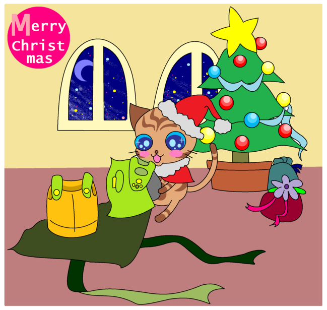 フェンのクリスマスプレゼント