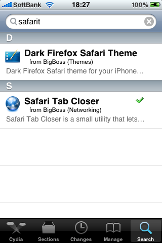 safari tab closer search