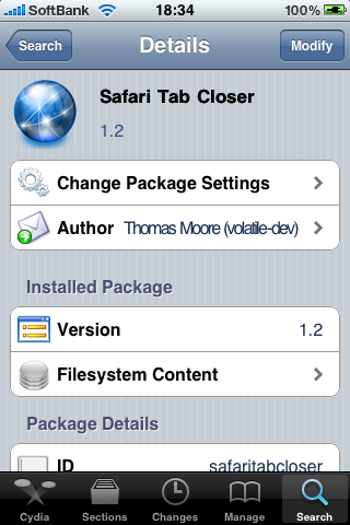 safari tab closer install