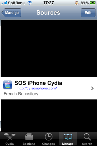 SOS iPhone