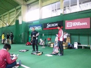 レックインドアテニススクール上石神井 YONEX