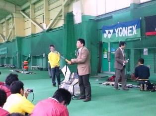 レックインドアテニススクール上石神井 MIZUNO