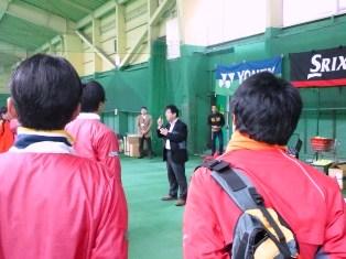 レックインドアテニススクール上石神井 ボス