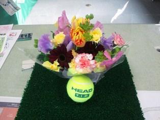 レックインドアテニススクール上石神井 花