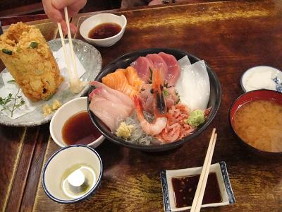 丸天丼&海鮮天ぷら