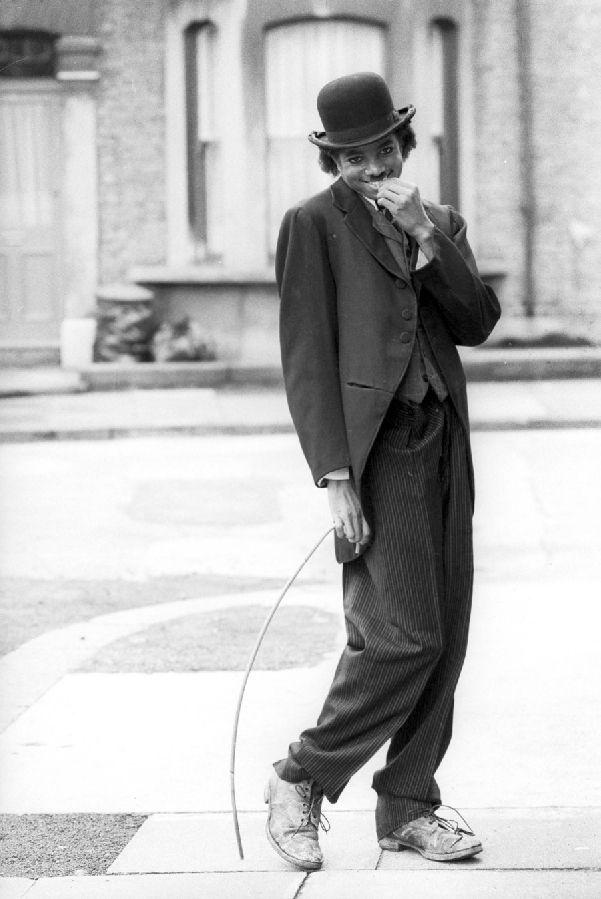 Michael acts Chaplin