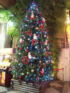 中華街クリスマスツリー