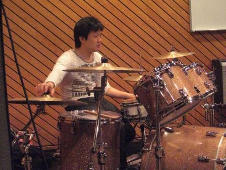 He is a great drummer