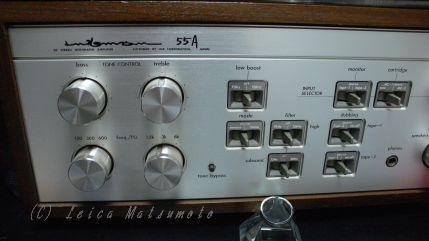 ラックスマンL-55Aでブリロン1.0をドライブ