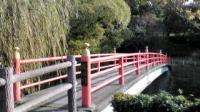 20091121094215竜田川 赤い橋