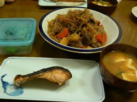 2010年3月2日夕食