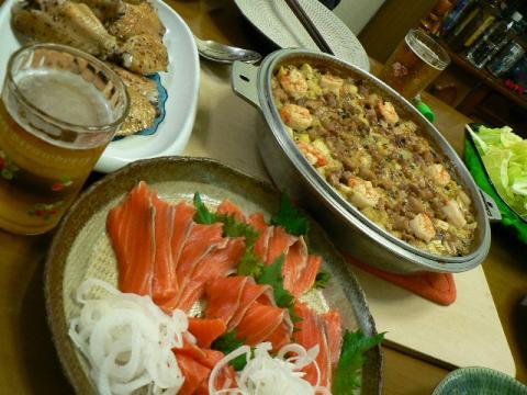 2010年4月2日夕食