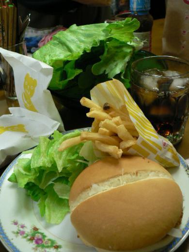2010年4月3日夕食