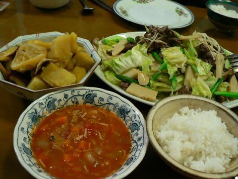2010年4月6日夕食