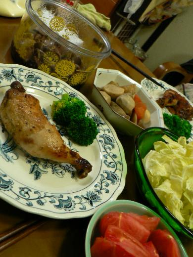 2009年3月8日夕食