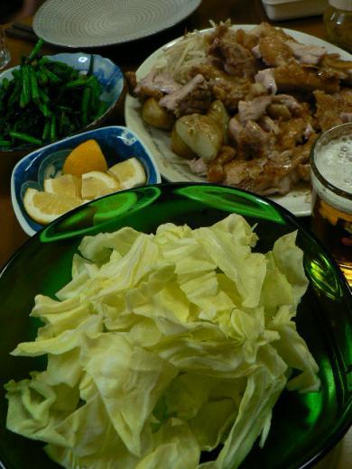 2010年4月8日夕食