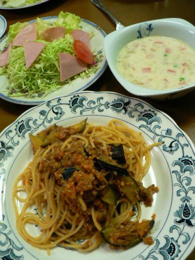 2009年11月9日夕食