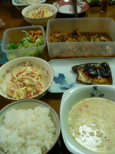 2009年11月11日夕食