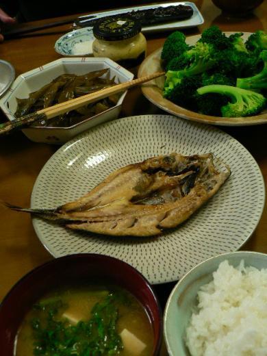 2009年3月12日夕食