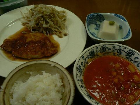 2010年3月14日夕食
