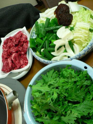 2009年11月15日夕食