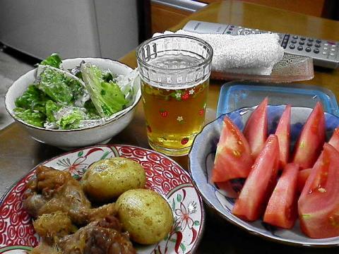 2010年5月9日バ様の夕食