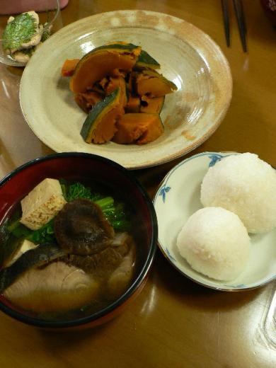 2010年3月21日夕食