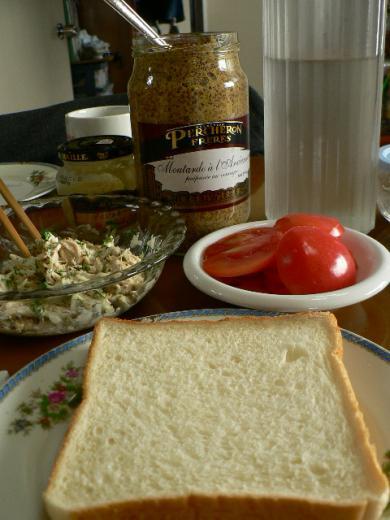 笹身をはさんでサンドイッチ
