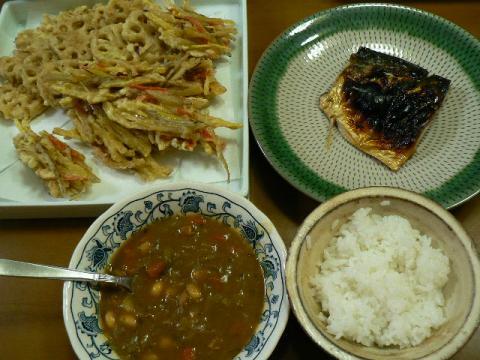 2010年1月27日夕食