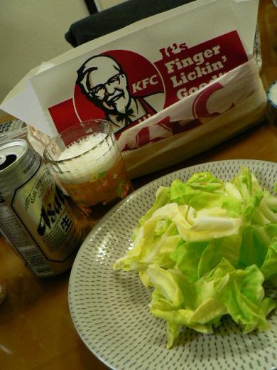 2010年3月27日夕食