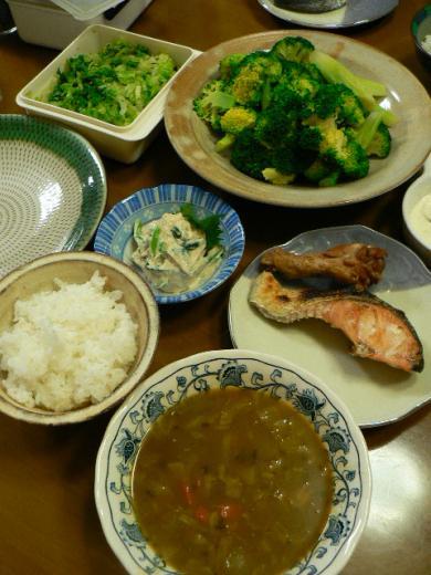 2010年2月15日夕食