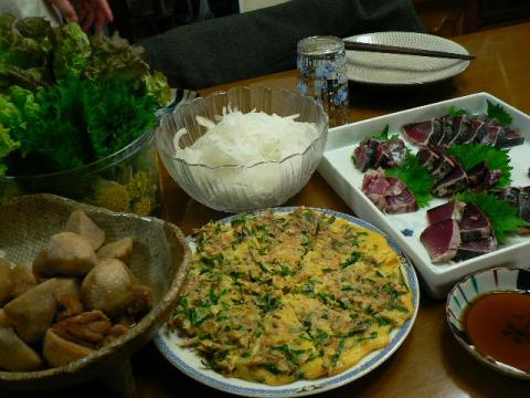 2010年4月24日夕食