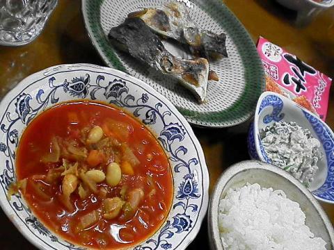2010年5月10日夕食