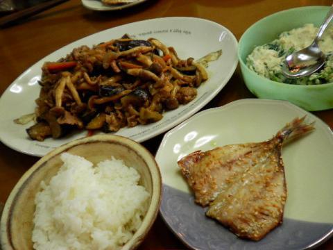 2010年5月12日夕食