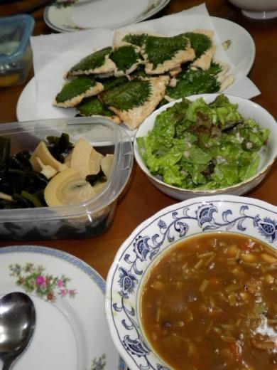 2010年5月1日夕食