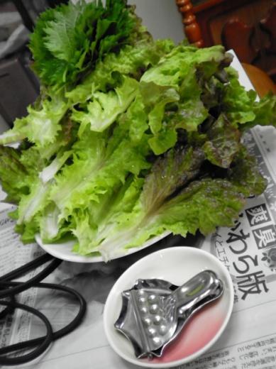 2010年5月4日夕食