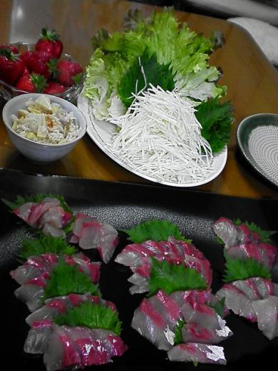 2010年4月28日夕食