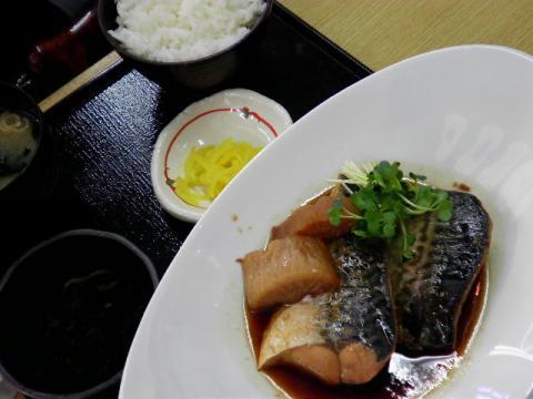 松金食堂煮魚定食