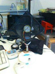 12cmファン扇風機
